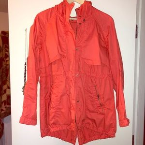 ADORABLE CORAL UTILITY JACKET SIZE 42 (L)